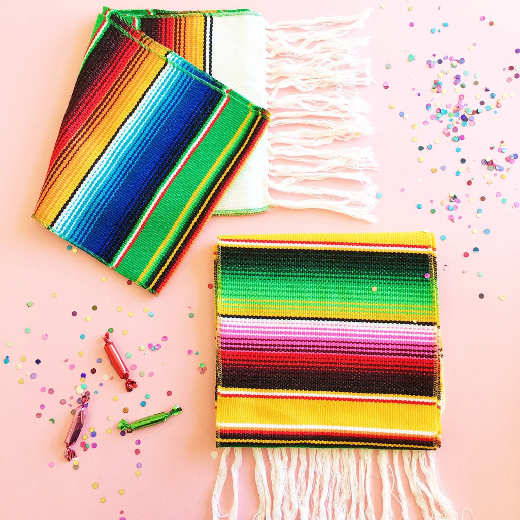 Woven Serape Table Runner available at Shop Sweet Lulu