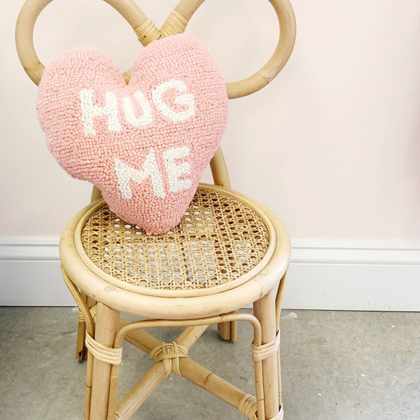 Hug Me Heart Shaped Hook Pillow