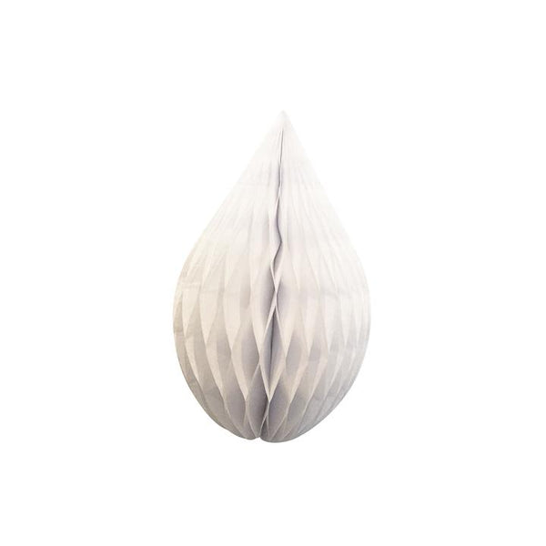 "White 5"" Honeycomb Rain Drop available at Shop Sweet Lulu"