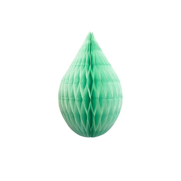"Mint 5"" Honeycomb Rain Drop available at Shop Sweet Lulu"