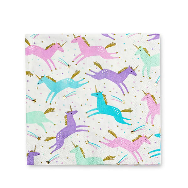 Magical Unicorn Napkins available at Shop Sweet Lulu
