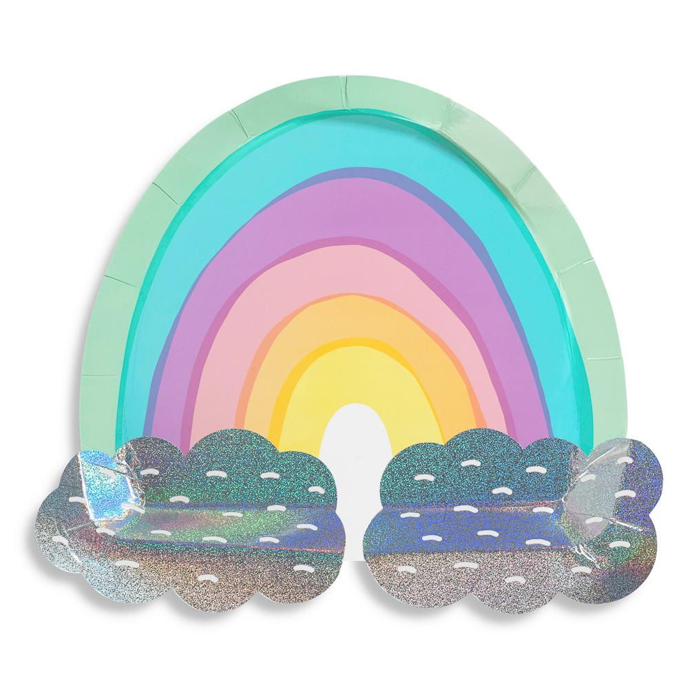 Over The Rainbow Large Plates available at Shop Sweet Lulu