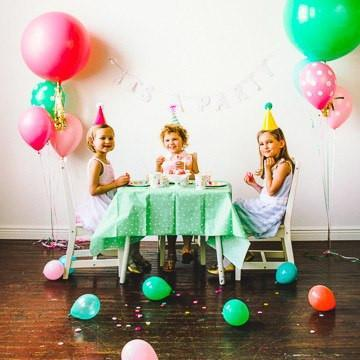 'It's a Party' Dotty Tablecloth - Shop Sweet Lulu