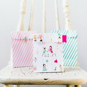 'It's a Party' Favor Bags available at Shop Sweet Lulu