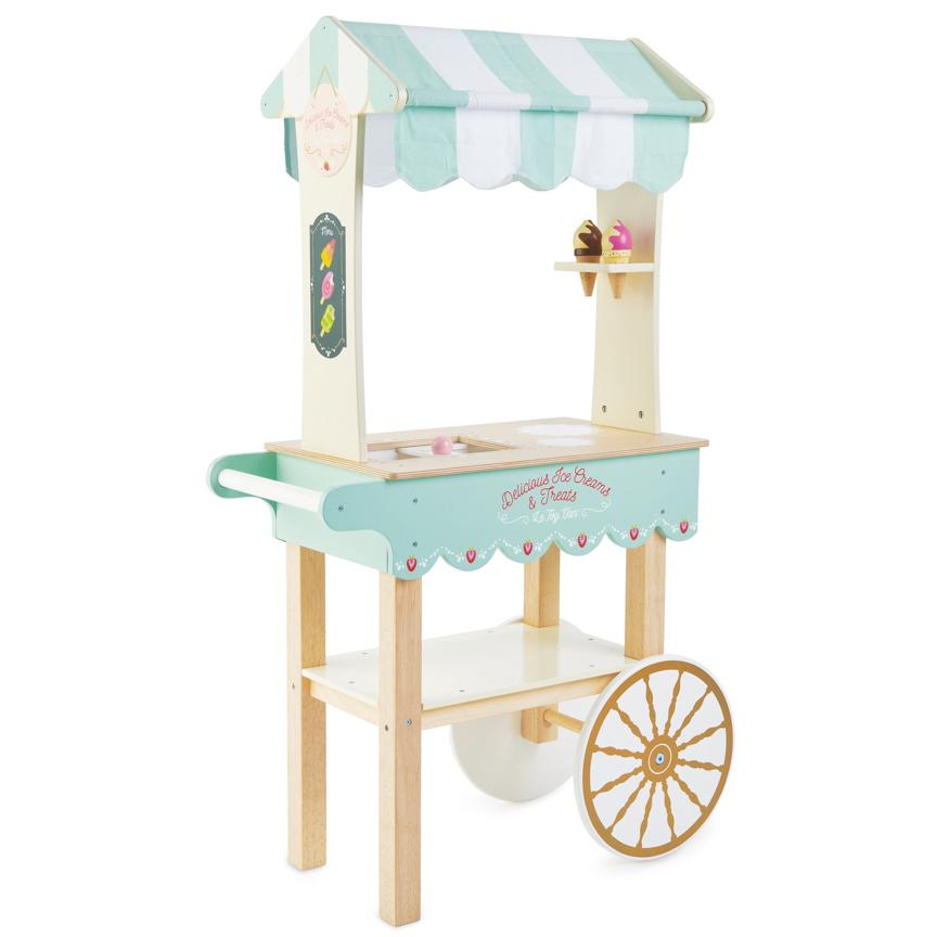 Wooden Ice Cream Trolley