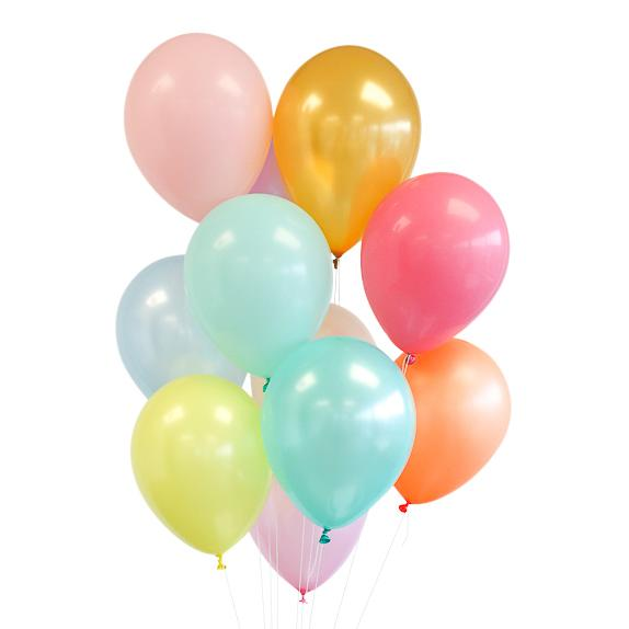 Pretty Pastels Party Palette Balloon Bundle
