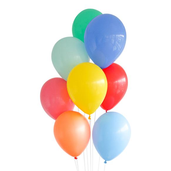 Color Wheel Balloon Bundle