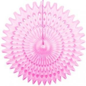 "Party Pink 21"" Honeycomb Fan available at Shop Sweet Lulu"