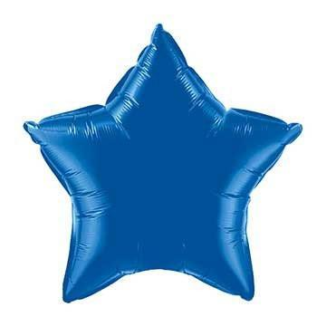"20"" Royal Blue Foil Star Balloon available at Shop Sweet Lulu"