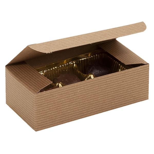 Candy Boxes: Kraft Pinstripe available at Shop Sweet Lulu