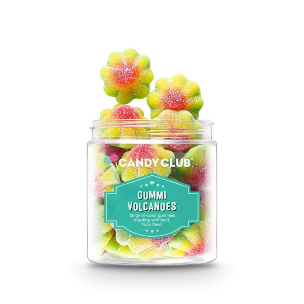 Gummi Volcanoes- by Candy Club