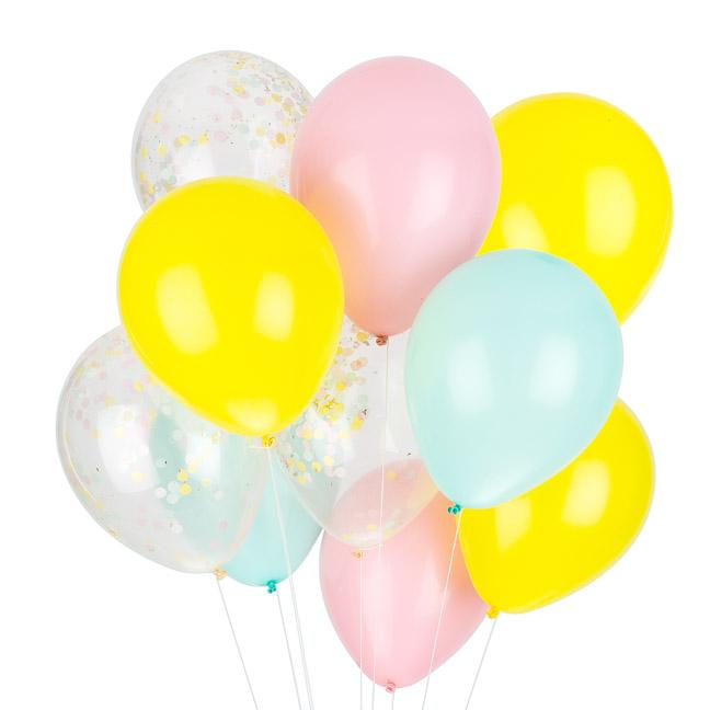 Party Balloon Mix, Carnival Collection