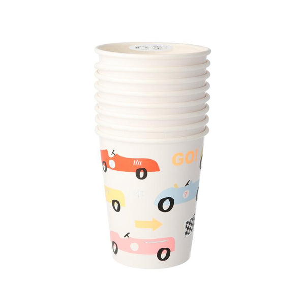 Race Car Party Cups