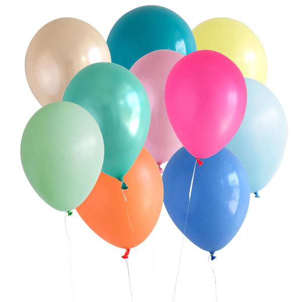 Party Balloons, Circus Colors