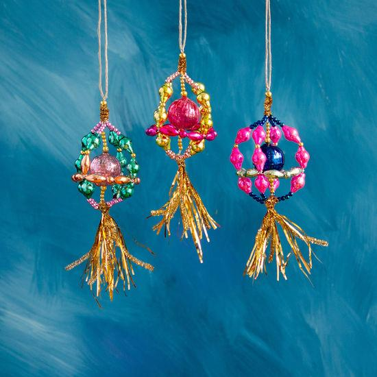 No Hassle Tassel Finial Ornament