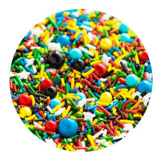 Comic Book Sprinkle Medley