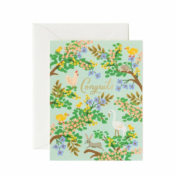 Congrats Forest Greeting Card