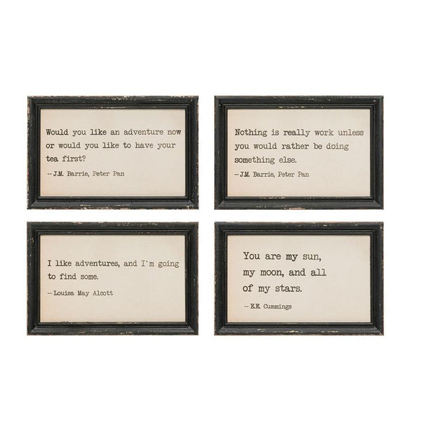 Wood Wall Decor with Saying