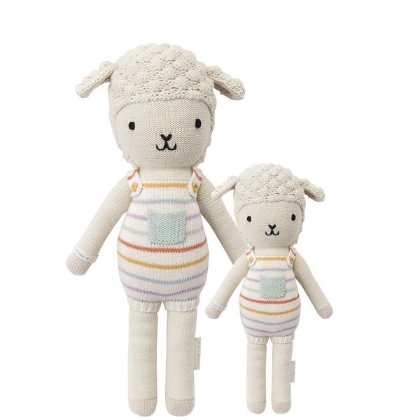 Avery the Lamb Hand-Knit Doll
