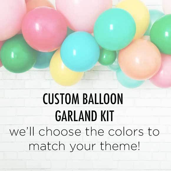 We'll Choose the Colors Balloon Garland Kit