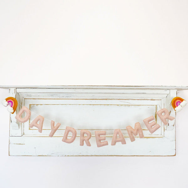 Daydreamer Wool Felt Garland