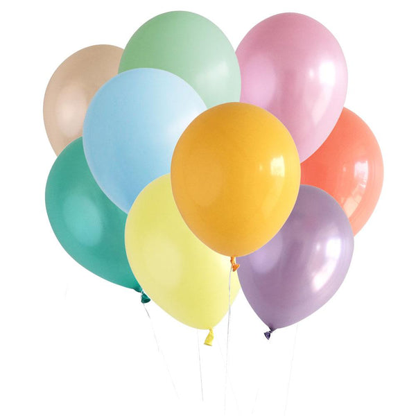 Party Balloons, Happy Doodle Colors