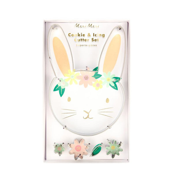 Floral Bunny Cutter Set