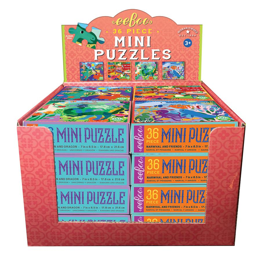 Mini Puzzles from eeBoo