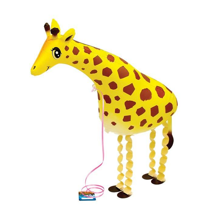 Air Walker Mylar Balloon Pet, Giraffe available at Shop Sweet Lulu