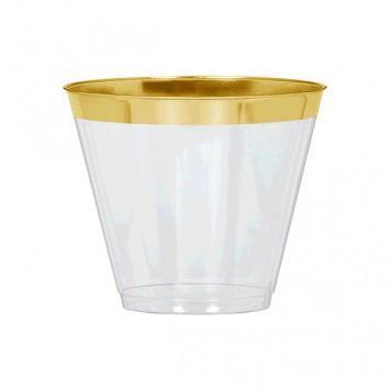 9 oz. Gold Rimmed Punch Cups available at Shop Sweet Lulu