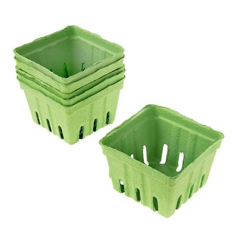 Berry Baskets - Lime Green