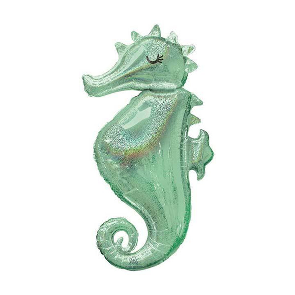 "38"" Seahorse Foil Balloon available at Shop Sweet Lulu"