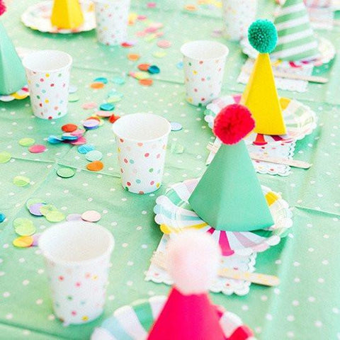 'It's a Party' Dotty Tablecloth