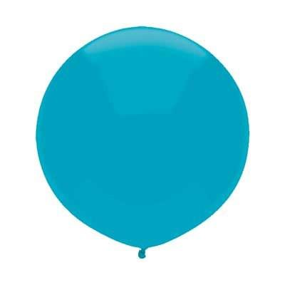 "17"" Island Blue Round Balloon"
