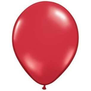"11"" Latex Balloon, Ruby Red"