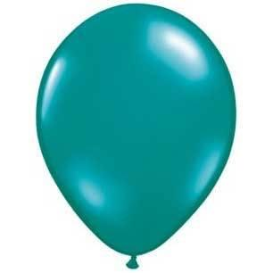 "11"" Latex Balloon, Jewel Teal available at Shop Sweet Lulu"