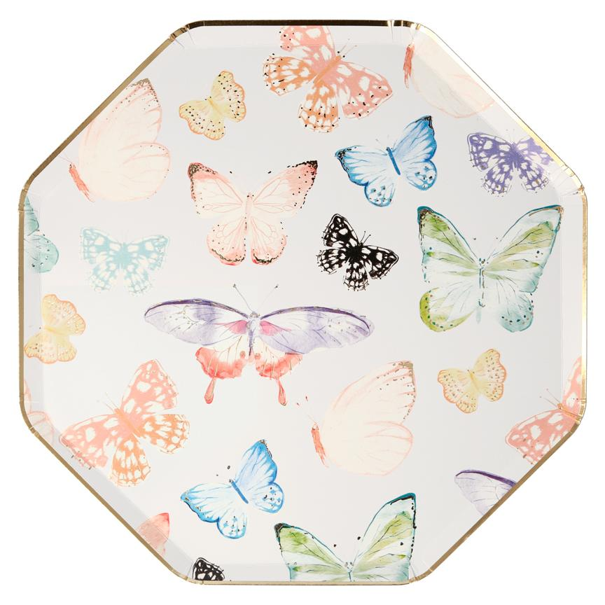 Butterfly Dinner Plates