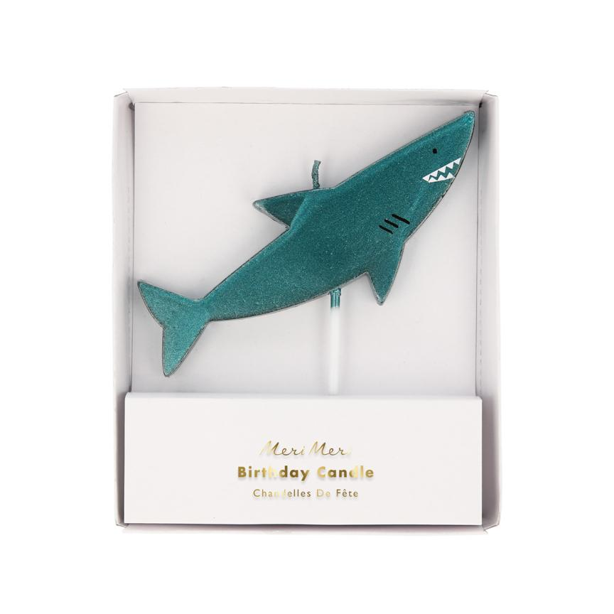 Shark Candle