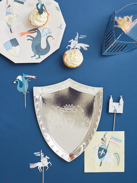 Dragons & Knights Small Napkins