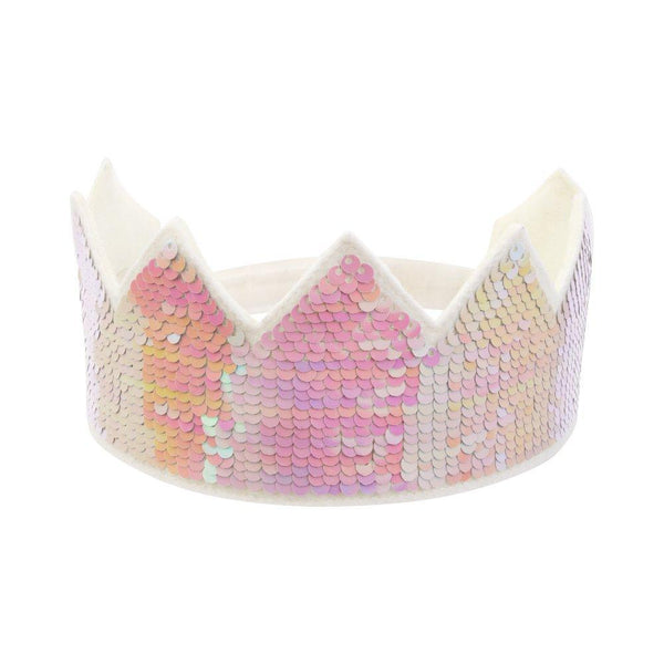 Reverse Sequin Party Crown
