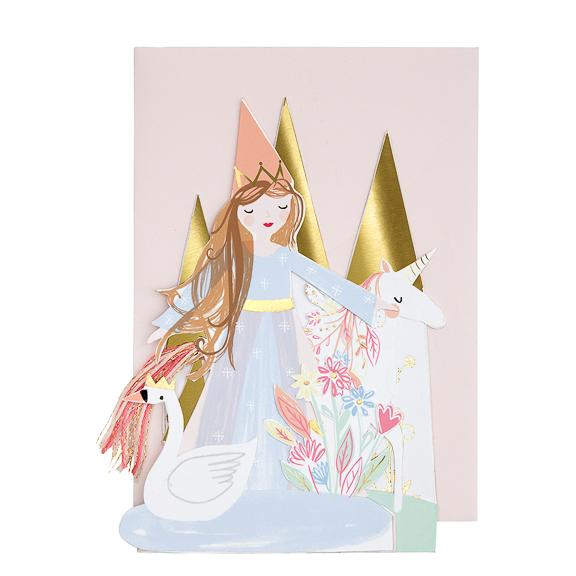 Princess Concertina Card