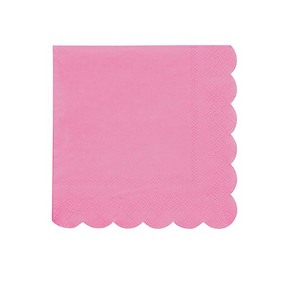 Dark Pink Simply Eco Small Napkins