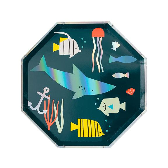Under The Sea Side Plate