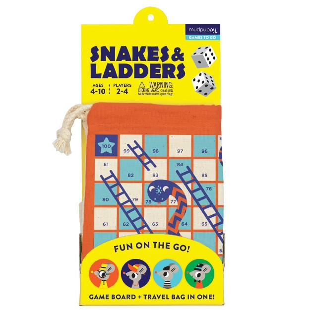 Snakes and Ladders Travel Game