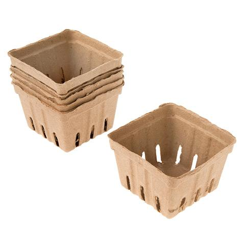 Berry Baskets - Kraft