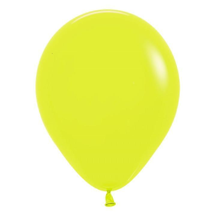 "11"" Latex Balloon, Neon Yellow available at Shop Sweet Lulu"