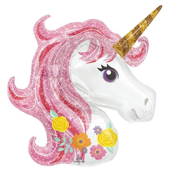"33"" Magical Unicorn Foil Balloon available at Shop Sweet Lulu"