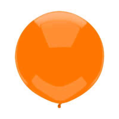 "17"" Juicy Orange Round Balloon available at Shop Sweet Lulu"