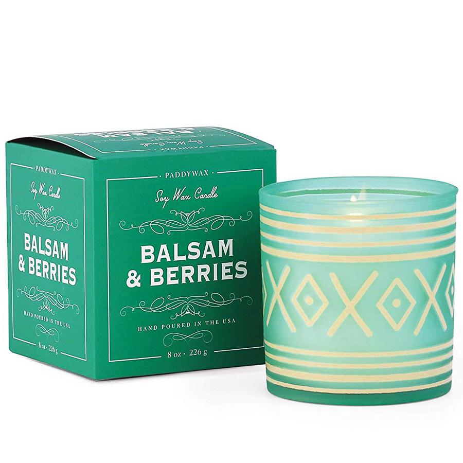 Emerald Balsam & Berries Holiday Boxed Candle