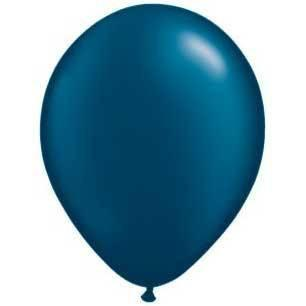 "11"" Latex Balloon, Midnight (Navy) Blue Pearl available at Shop Sweet Lulu"